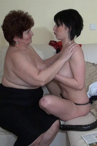 Lesbian matures and grannies going wild