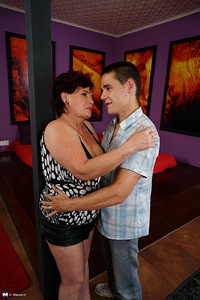 This toy boy loves pleasing a naughty mature lady