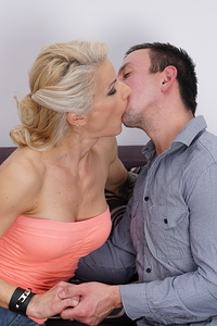 This hot MILF loves fooling around with her lover