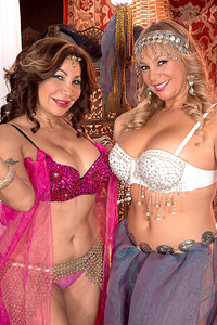The Exotic Art Of Belly Dancing, Cock Sucking And Dick Tugging